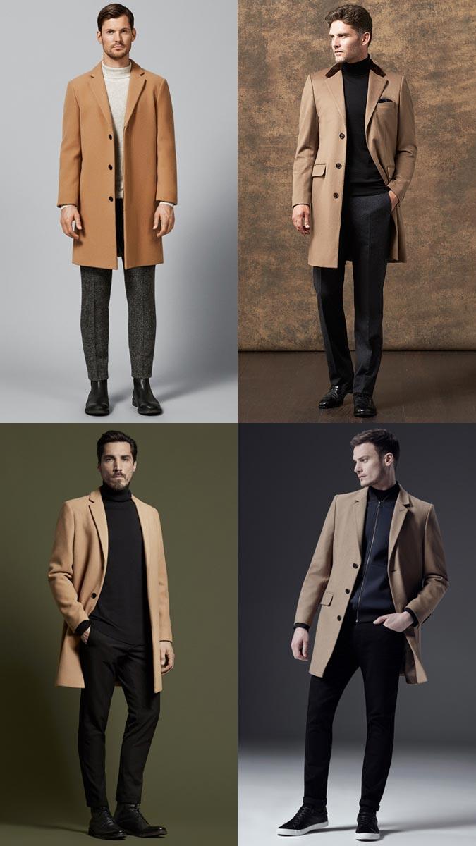 пальто зима 2018-2019 года модные тенденции мужские