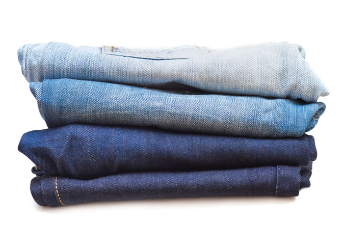 Взвешивание джинсов перед покупкой