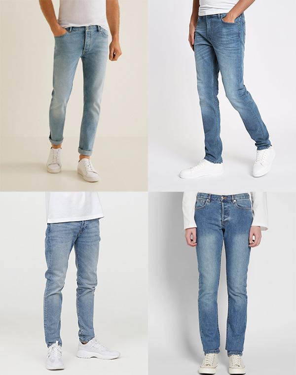 Как носить плотные джинсы лето мужчине фото