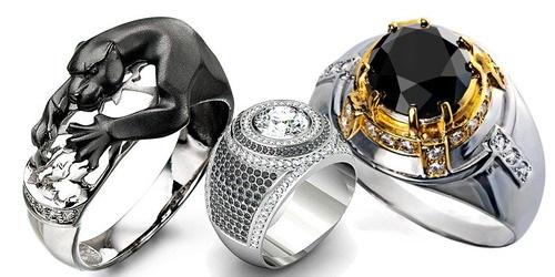 серебряные кольца для сильных и стильных