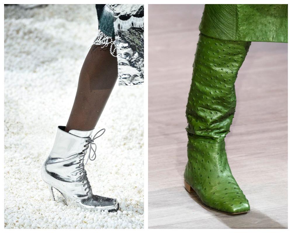 Яркие женские сапоги в моде 2019