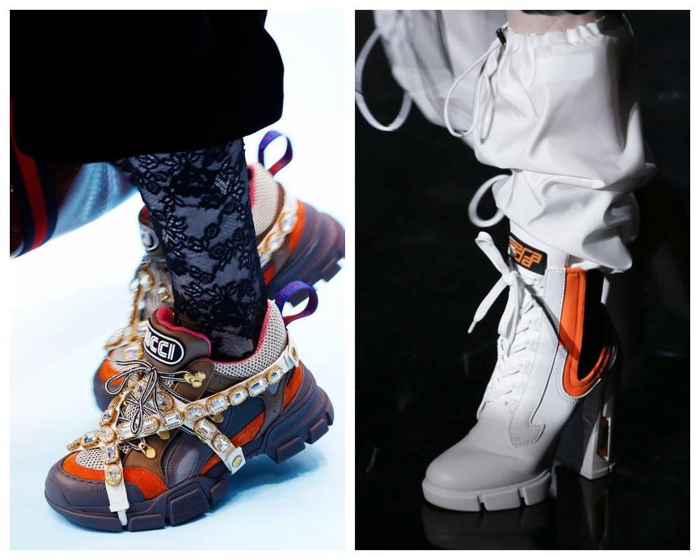 Женские кроссовки в тренде зимой 2019