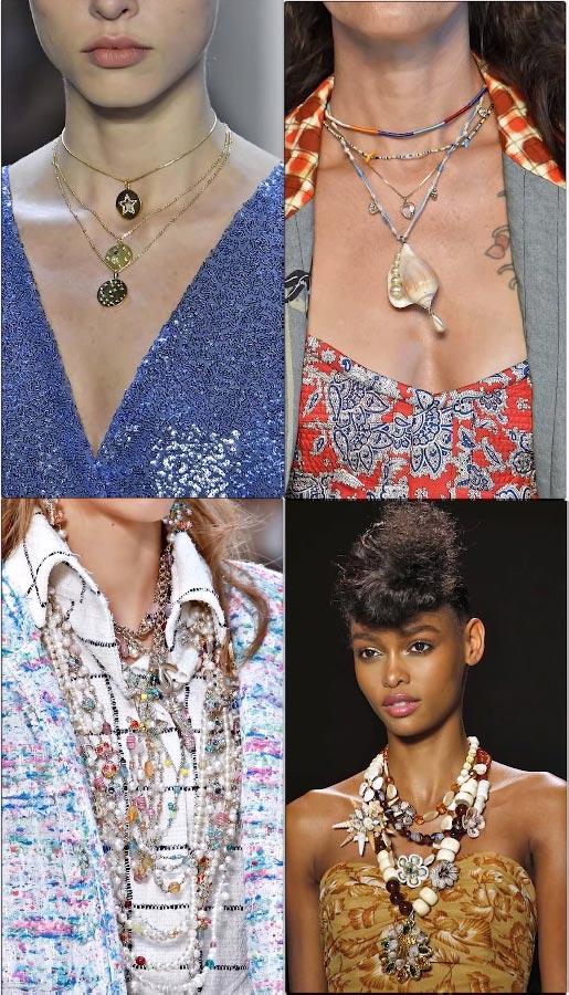Какие в моде ожерелья для женщин 2019 фото примеры