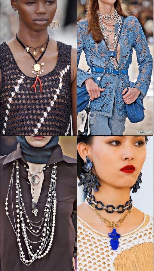 Модные цепочки женские 2019 фото