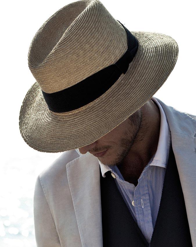 Соломенная шляпа с полями мужская 2019 на лето смотреть фото