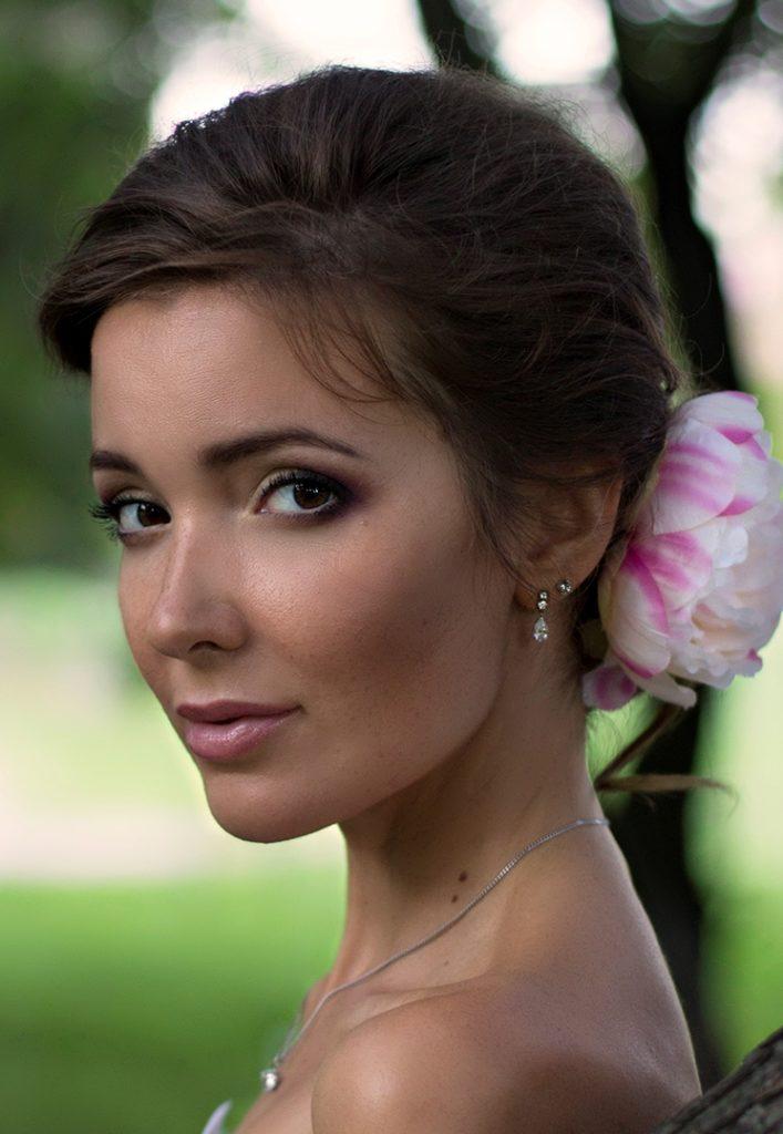 Alexandra Lyubimova - фотосет для салона свадебных платьев.