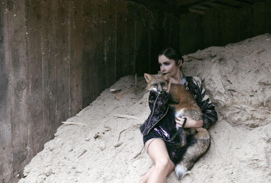 Александра Любимова - фотосессия для The model mag, фото 1.