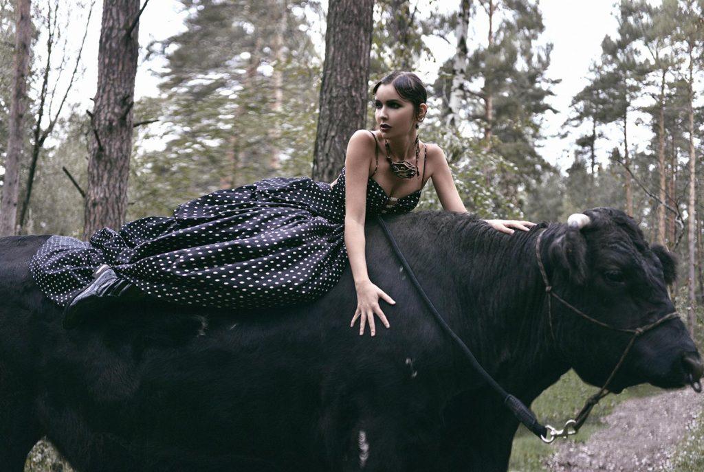 Александра Любимова - фотосессия для The model mag, фото 2.